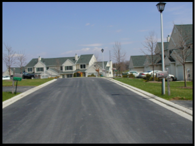 Residential Site Development roadway