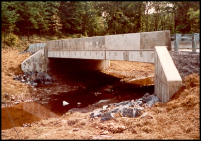 constructed bridge