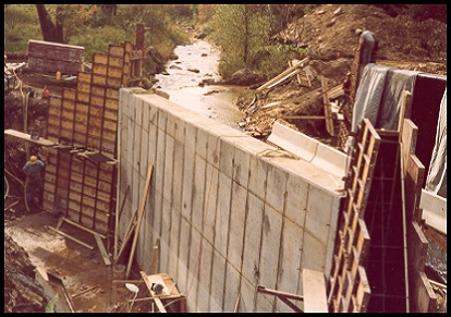 construction of bridge